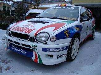 COROLLA-WRCスペック 現実??非現実